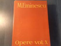 Mihai Eminescu Opere volumul 10 Perpessicius 1989