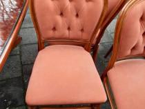 Masa cu 4 scaune lemn masiv
