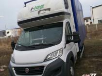 Transport marfa cu duba voluminoasa ( Fiat Ducato Maxi)