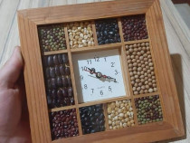Ceas Quartz din lemn