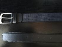 Curea noua neagra cu model 100 cm