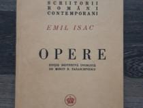 Carte veche emil isac opere