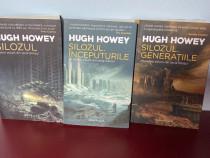 LOT carti S.F. - trilogia Silozul de Hugh Howey,Nautilus,NOI