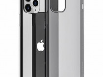 Husa Telefon Silicon Apple iPhone 11 6.1 Clear Grey Borofone