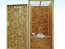 Toaleta / WC de gradina -  Se livreaza in tara