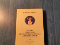 Anuarul institutului de cercetari socio umane Gh. Sincai 7