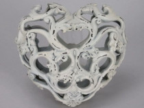 Decoratiune inima dantelata