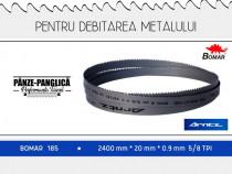 Fierastrau banda metal 2400x20x0.9x5/8 Bomar 185