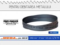 Fierastrau banda metal 3350x27x0.9x6/10 Meba pro 260 Gp