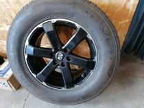 Set roti (anvelope si jante) Nissan Navara 255/65R17 M+S