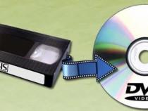 Transfer casete vechi VHS pe dvd