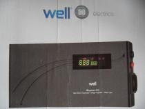 WELL Slimpower 500, stabilizator (regulator) automat de tens