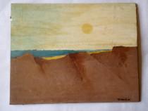 Peisaj - ulei pe lemn