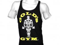 Top, maiou Gold Gym, mărimea S, culturism, sală, fitness Gym