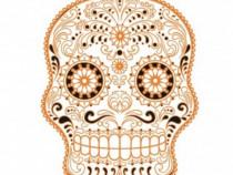 Sticker Decorativ, Skull, 78 Cm, 216STK-9