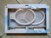Wii: Set palete tenis (produs nou, sigilat)!