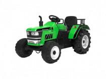 Tractoras electric Kinderauto HL-2788 cu telecomanda #Verde