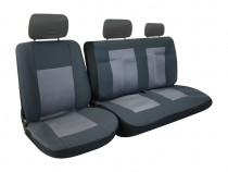 Huse autoutilitare 2+1 material textil, huse scaune dube, du