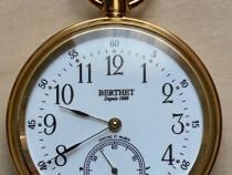 Ceas de buzunar mecanic Berthet aurit