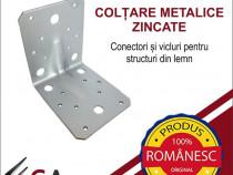 Conectori metalici pentru imbinarile din lemn 105x105x90x2mm