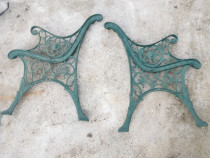 Set picioare banca cap de leu din fonta turnata