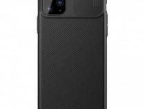 Husa telefon Silicon Apple iPhone 11 Pro Black Camera