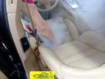 Curatam si dezinfectam cu abur tapiterii auto!