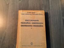 Dictionar german- roman roman - german Emilia Savin