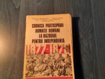 Cronica participarii armatei romane la razboiul independenta