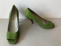 Pantofi deosebiti Laura Scott, din piele naturala exterior s