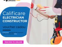 Calificare Electrician Constructor, fără curs!