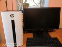 PC HP AMD A10/Monitor DELL si tastatura