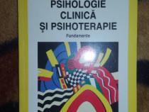 Psihologie clinica si psihoterapie / fundamente - Daniel Dav