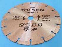 Disc de taiere diamantata (industrial) 230x22.2mm 10