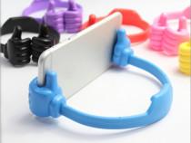 Suport pentru Smartphone, suport flexibil albastru pentru or