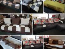 Canapea zalau; canapele extensibile, lada depozitare, Zalau
