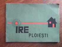 Pliant vintage de Informare IRE Ploiesti / R8P3F