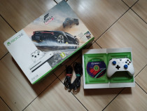 Consola Xbox One S 4K, peste 250 de jocuri: Fortnite, FH, MK