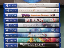 190 de jocuri pentru PlayStation 4 și PSP Portable impecabil