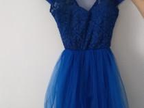 Rochie scurta albastră