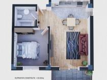 Apartament 2 camere bloc nou cu vedere catre Mare Mamaia Sat