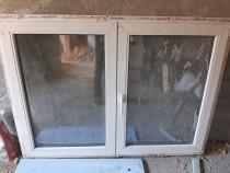 4 ferestre termopan gealan dubla deschidere si oscilobatare.