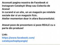 Articole casa si haine pagina fb si instagram CataleyA Shop