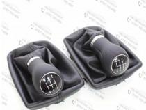 Nuca piele + manson schimbator Audi A4 B6, Audi A4 B7