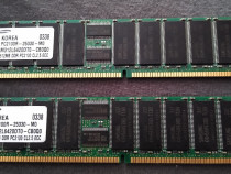 Kit 2x 512MB, DDR PC2100 CL2.5 ECC Server