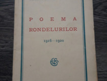 Carte veche 1927 alexandru macedonski poema rondelurilor