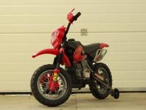 Motocicleta electrica pentru copii Enduro JT014 30W 6V #RED