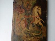 Icoana Sf. Gheorghe omorand balaurul
