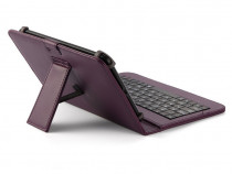 Husa Tableta 7 Inch Cu Tastatura Micro Usb Model X , Mov C2