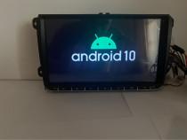"""Navigatie GPS Android 10, 9"""" VW SEAT SKODA, Garantie"""